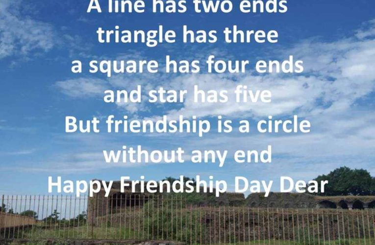 Beautiful Happy Friendship Day Greetings for Best Friends